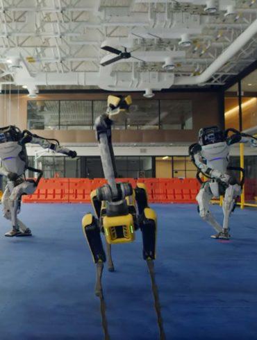 Ver bailar estos robots es la mejor forma de comenzar 2021