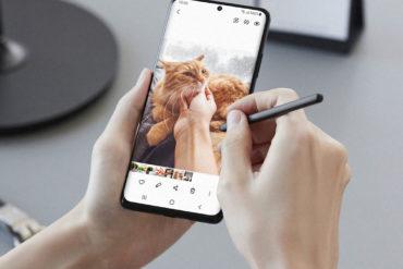 Samsung Galaxy S21 Ultra con S Pen