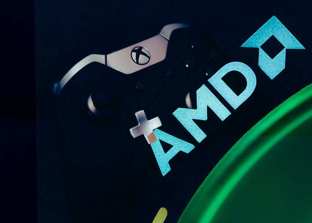 Los ingresos de AMD y Microsoft