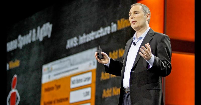 Andy Jassy, líder de Amazon Web Services (AWS),