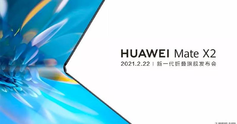 Huawei confirmó el Mate X2, el siguiente teléfono de pantalla plegable del fabricante