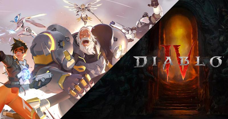 Overwatch 2 y Diablo 4 no saldrán en 2021