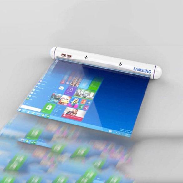 Samsung desarrollará pantallas flexibles