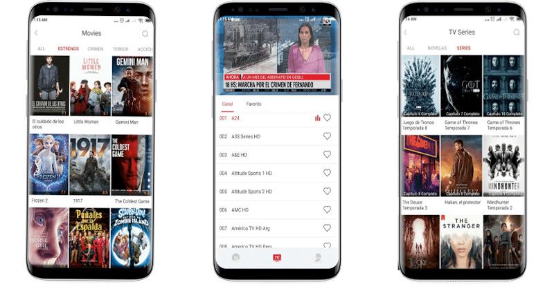 ➤ App Tele Latino: Entretenimiento en español desde cualquier móvil