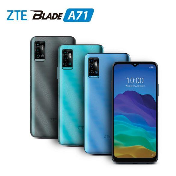 ZTE presenta el Blade A71