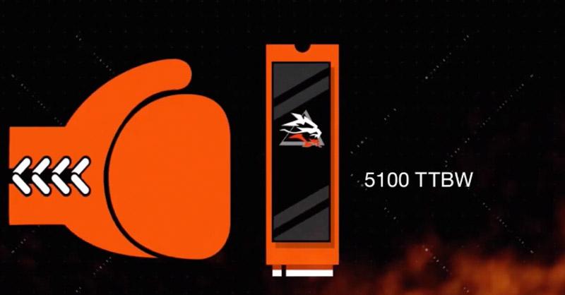 El FireCuda 530 puede soportar cargas de escrituras equivalentes al 70% de su capacidad a diario por cinco años.