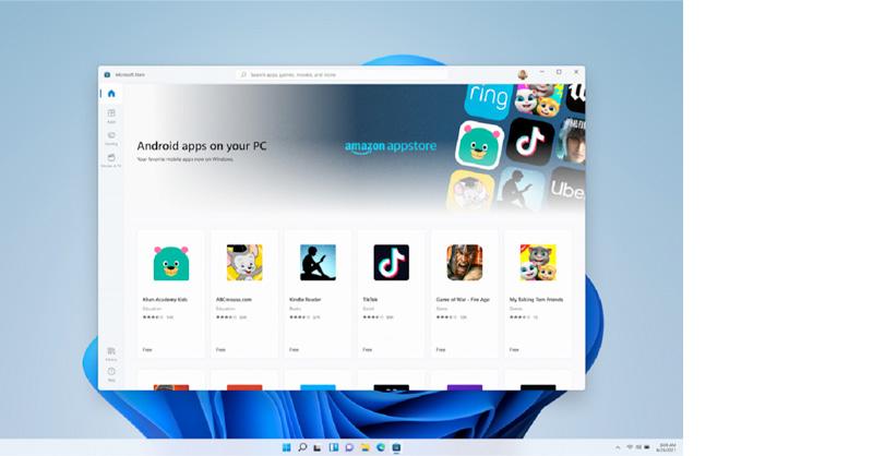 android en windows 11