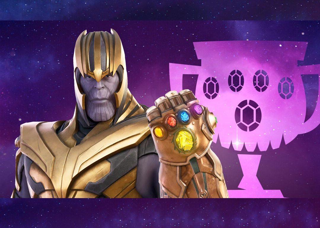 Copa Thanos de Fortnite