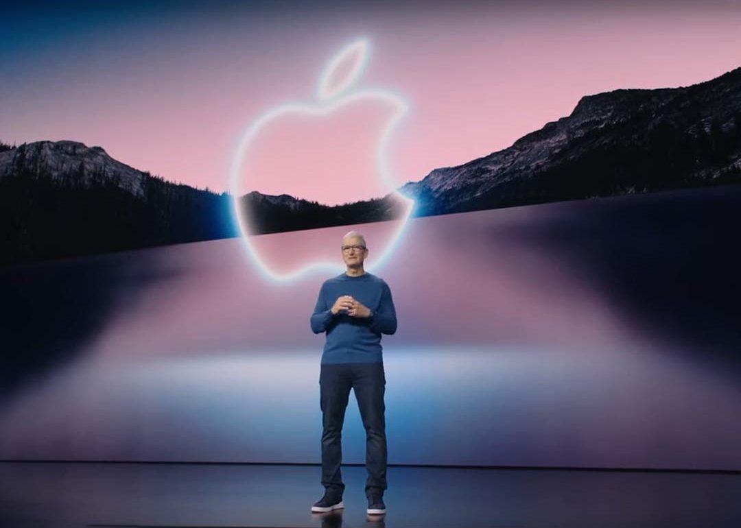 evento apple iphone 13